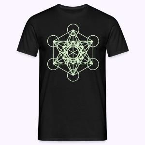 Ninth Dimension Glow-in-the-Dark - Mannen T-shirt