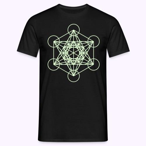 Ninth Dimension Glow-in-the-Dark - Herre-T-shirt