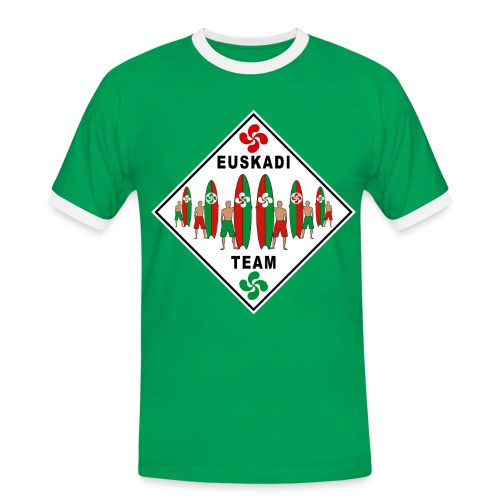 Euskadi surfing team - Men's Ringer Shirt