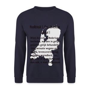 Grondwet - Mannen sweater
