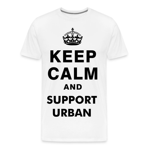 T-Shirt Keep Calm And Support Urban - T-shirt Premium Homme