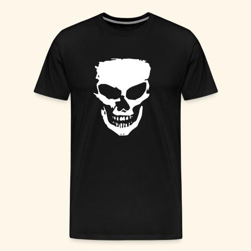 White Skull - Miesten premium t-paita