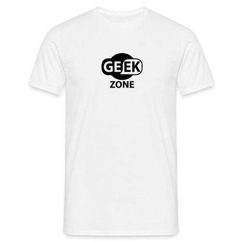 GEEK ZONE BLACK - T-shirt Homme