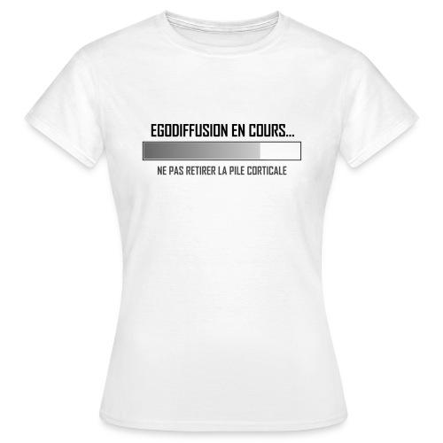 Egodiffusion 2 - T-shirt Femme