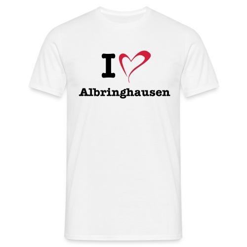 I Love Albringhausen - Männer T-Shirt