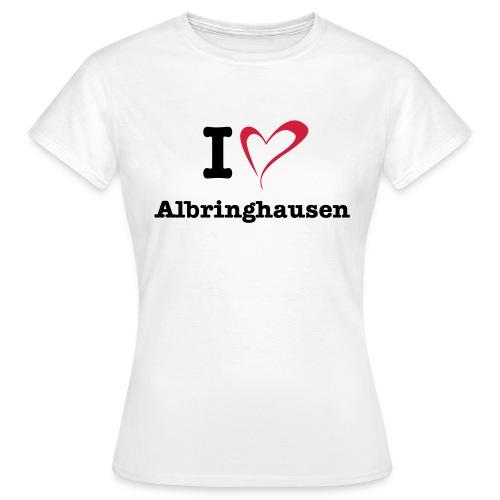 I Love Albringhausen - Frauen T-Shirt