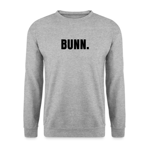 Bunn Men's Sweatshirt - Salt and Pepper - Men's Sweatshirt