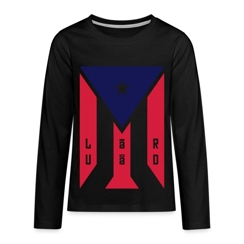 5 - Teenagers' Premium Longsleeve Shirt