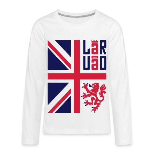 4 - T-shirt manches longues Premium Ado