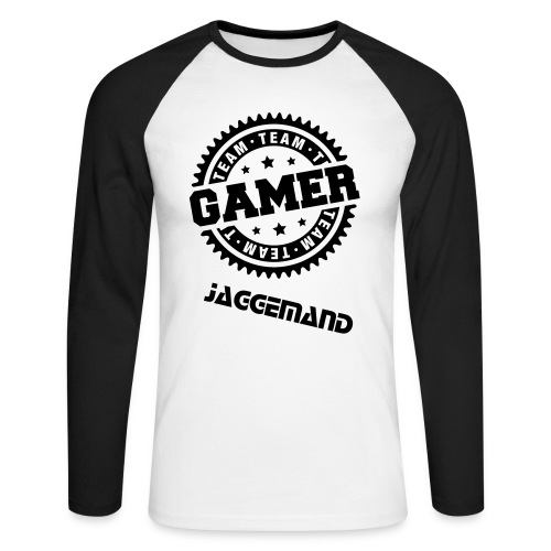 Gamer T-Shirt - Men's Long Sleeve Baseball T-Shirt