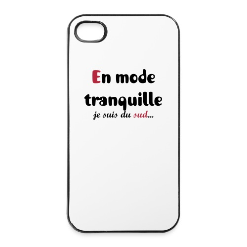 En mode tranquille 4s - Coque rigide iPhone 4/4s