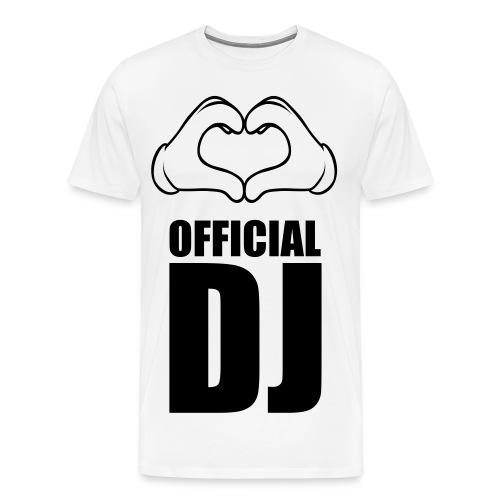 DJ - Mannen Premium T-shirt