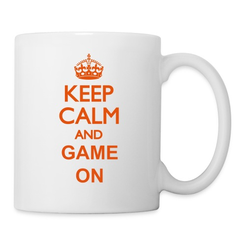 Keep calm and game on mug - Mug