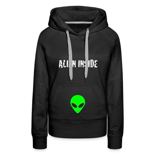 Alien Inside - Vrouwen Premium hoodie