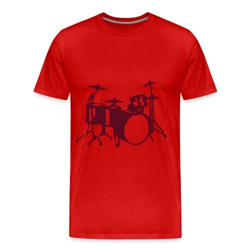 Tom Danto drums III - Männer Premium T-Shirt
