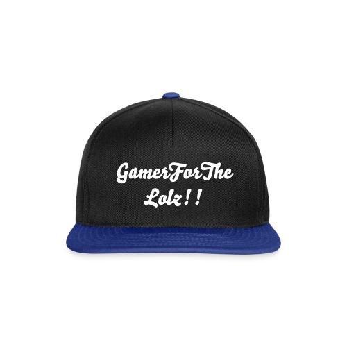 Gamerforthelolz hat - Snapback Cap