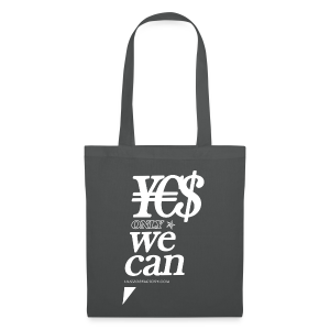¥€$ only WE CAN Bag - Borsa di stoffa