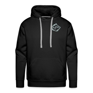 Free Rider / Energy - Double Reflecting Hoody for Men (Front- and Backprint: Reflektierend) - Männer Premium Hoodie