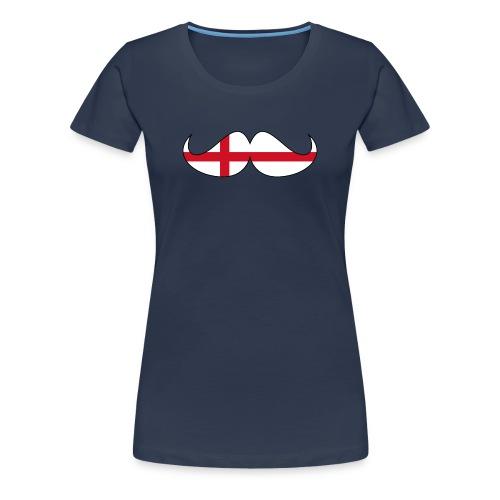 the english hipster female - Women's Premium T-Shirt
