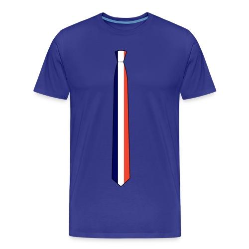 the français tie - T-shirt Premium Homme