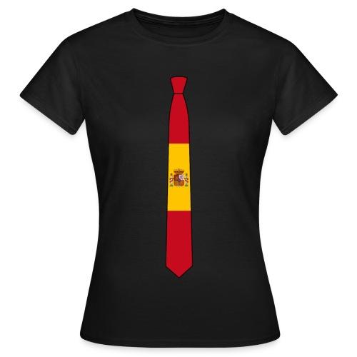 the Español tie femenino - Camiseta mujer