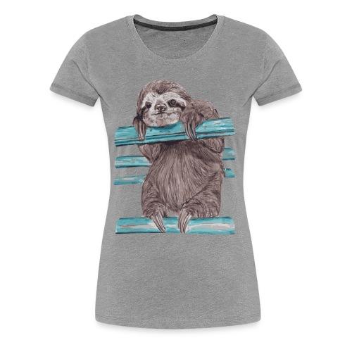 Hey Mr sloth - Women's Premium T-Shirt