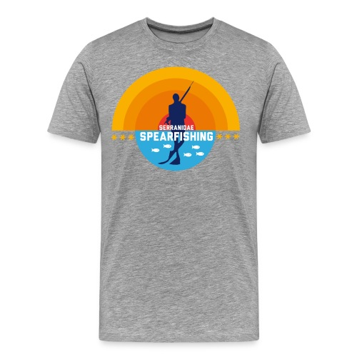 T-shirt Premium Homme - spearfishing fun cool