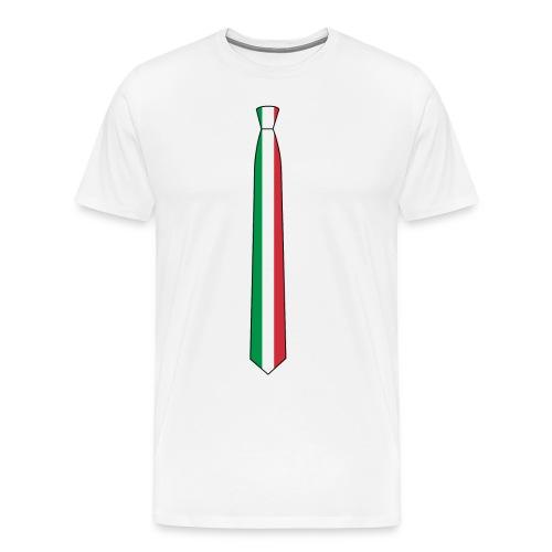 the Italia tie - Maglietta Premium da uomo