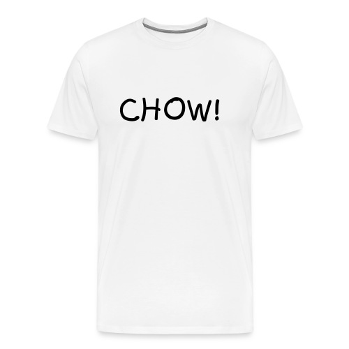 Men's Chow Shirt - Men's Premium T-Shirt