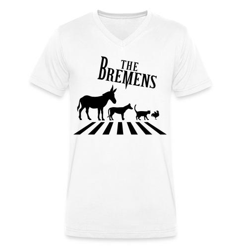 The Bremens T Shirt - Männer Bio-T-Shirt mit V-Ausschnitt von Stanley & Stella