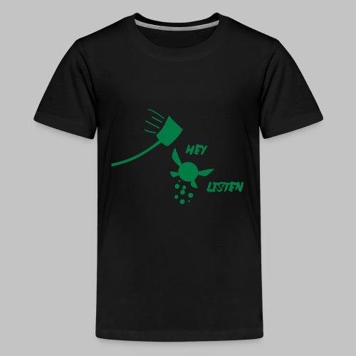 T-shirt Ado (teenage) Hey! Listen! (Navy Fairy) - Teenage Premium T-Shirt