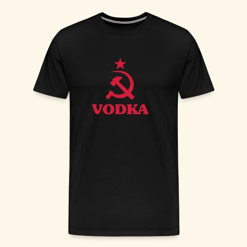 Vodka - Miesten premium t-paita