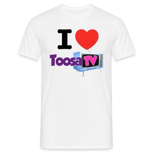 I HEART TOOSATV - Miesten t-paita