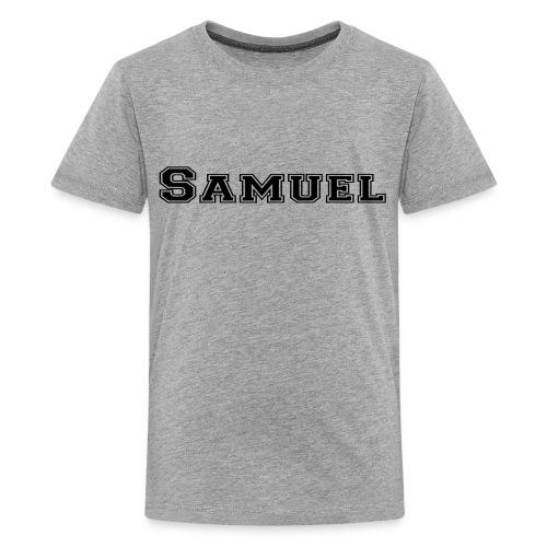 Samuel Teenager T-shirt - Teenage Premium T-Shirt