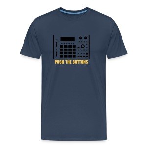 Push The Buttons - Männer Premium T-Shirt