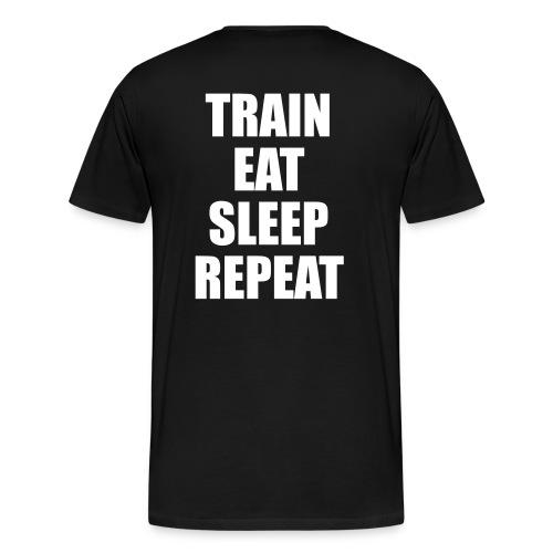 TRAIN  - Maglietta Premium da uomo