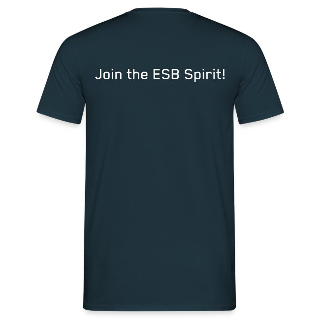 ESB T-Shirt Männer, Rücks.: Join the Spirit!