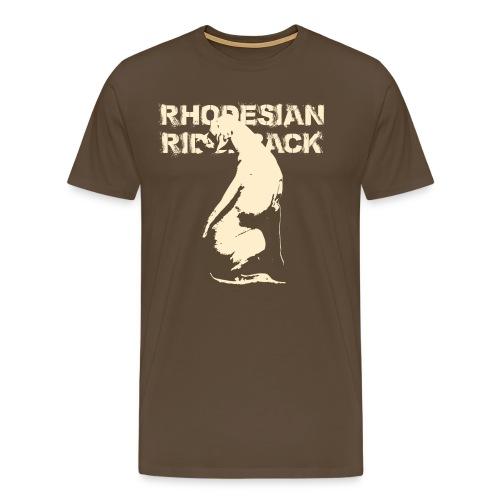 Rhodesian Ridgeback - Camiseta premium hombre