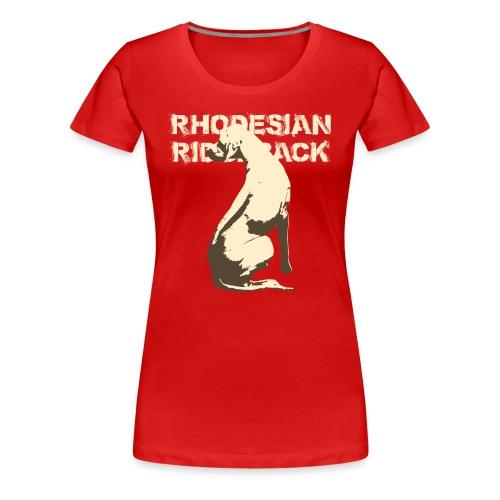 Rhodesian Ridgeback - Camiseta premium mujer