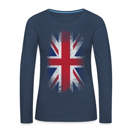 English - Frauen Premium Langarmshirt