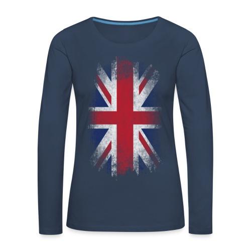 English - Frauen Premium Langarmshirt