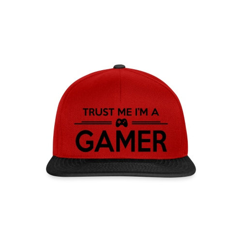 trust me i'm a GAMER Cap - Snapback Cap