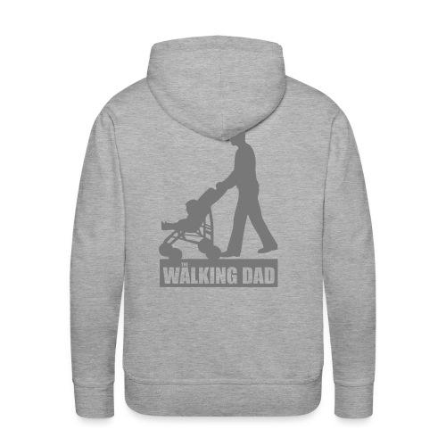Walking Dad - Männer Premium Hoodie