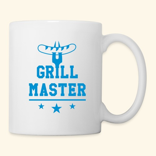 Grill Master trois étoiles - Mug blanc