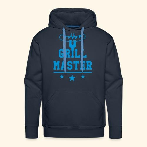 Grill Master trois étoiles - Sweat-shirt à capuche Premium pour hommes
