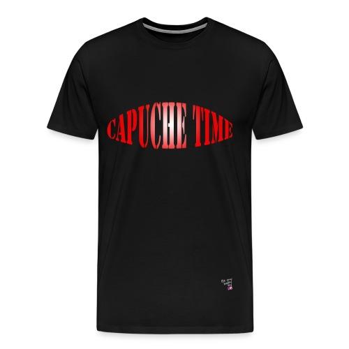 T-shirt Capuche time - T-shirt Premium Homme