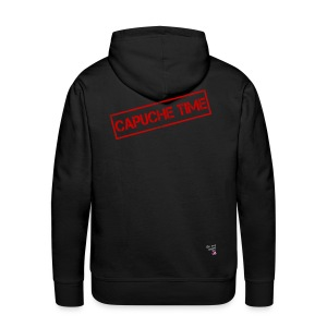 Sweat Capuche time - Sweat-shirt à capuche Premium pour hommes
