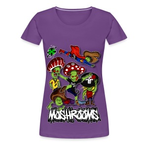 Moshrooms ♀1 - Frauen Premium T-Shirt