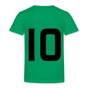 Kids number and name on back t Shirt - Kids' Premium T-Shirt
