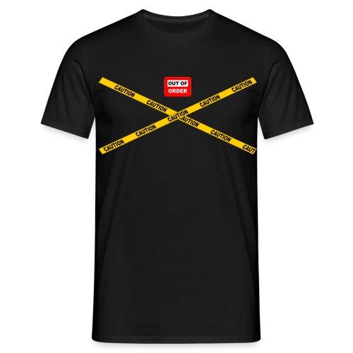OUT OF ORDER - Männer T-Shirt